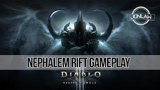 Diablo 3 Reaper of Souls Gameplay: Nephalem Rift (100%&Boss)
