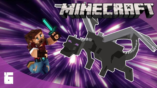 EPIC DRAGON FIGHT! - Minecraft 1.17 Let's Play (ep6)