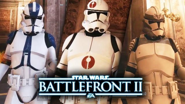 Star Wars Battlefront 2 - New Clone Trooper Legion Gameplay! Clone Customization with Jedi Leaders!