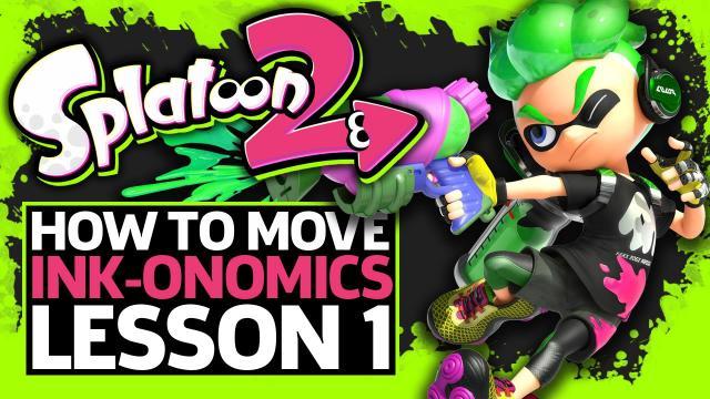 How To Move In Splatoon 2 - Inkonomics Lesson One