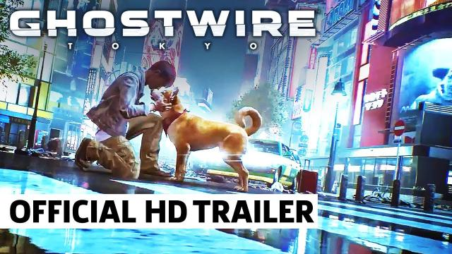 Ghostwire: Tokyo - Official 'Pet All The Dogs' Trailer | QuakeCon at Home
