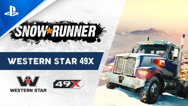 SnowRunner - The All-New Western Star 49X | PS4