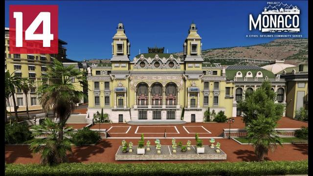 Casino Square Monte-Carlo - Cities: Skylines: Project: Monaco - EP 14