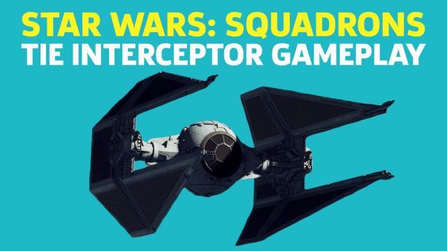 Star Wars Squadrons - TIE Interceptor Gameplay