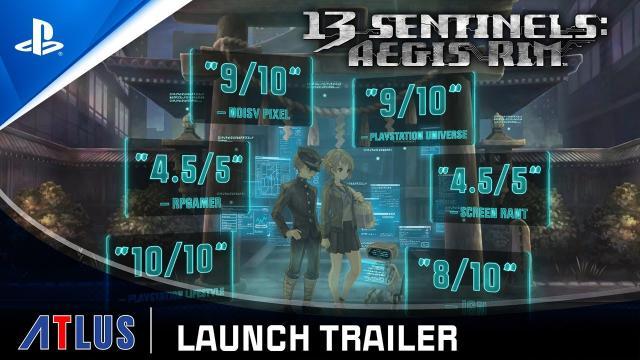13 Sentinels: Aegis Rim - Launch Trailer | PS4