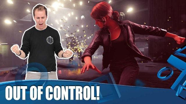 Control DLC The Foundation - Out of Control!