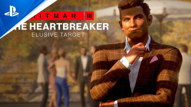 Hitman 3 - The Heartbreaker: Elusive Target Mission Briefing | PS5, PS4, PS VR