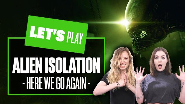 Let's Play Alien Isolation PS5 Gameplay Part 2 - HERE WE GO AGAIN