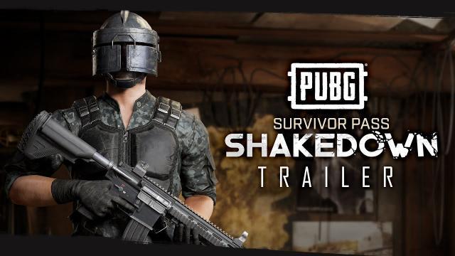 PUBG - Survivor Pass SHAKEDOWN