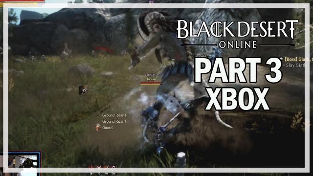 Black Desert Online Xbox One - Let's Play Part 3 - Cron Castle