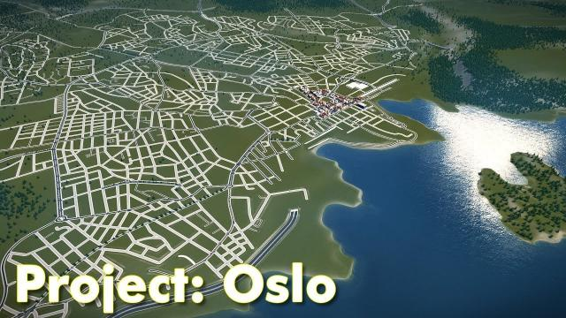 Cities: Skylines - Project Oslo (Part 2) - More Road Layout & Planning