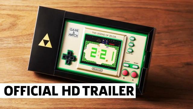 The Legend of Zelda Game & Watch | Nintendo E3 2021