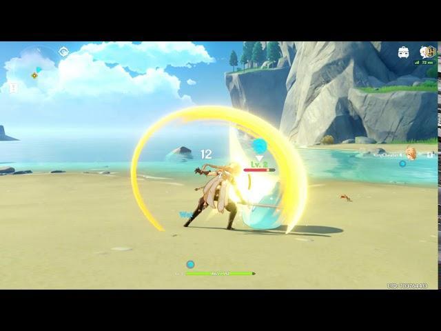 Genshin Impact Trainer +4