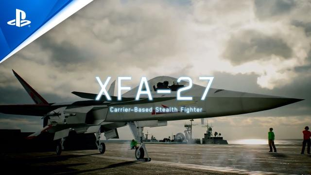 Ace Combat 7: Skies Unknown - Original Aircraft Trailer | PS4