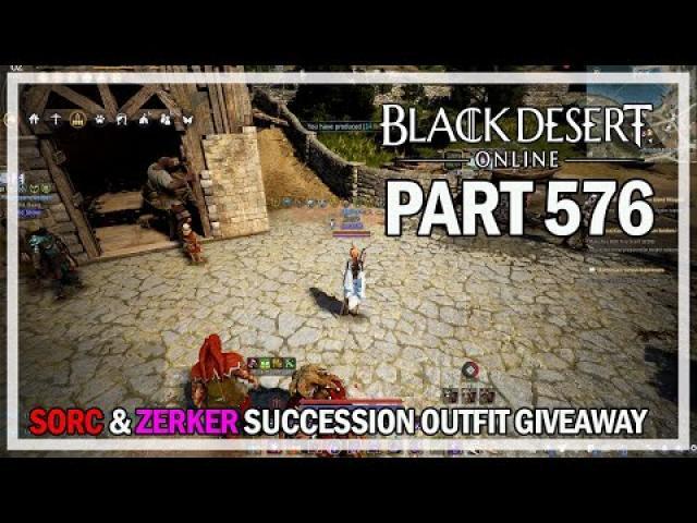 Sorceress & Berserker Outfit Giveaway - Let's Play Part 576 - Black Desert Online