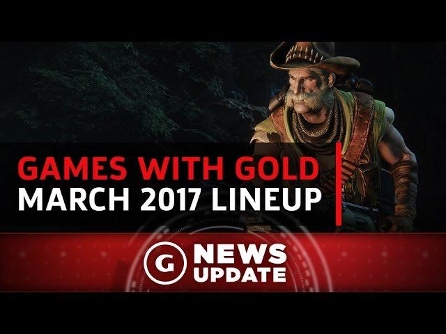 Free Xbox One & 360 Games With Gold for March 2017 - GS News Update