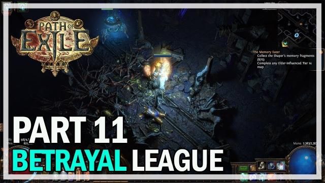 Path of Exile - Betrayal League Let's Play Part 11 - Uber Lab